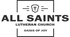 All Saints Lutheran Church – Orland Park, IL Logo